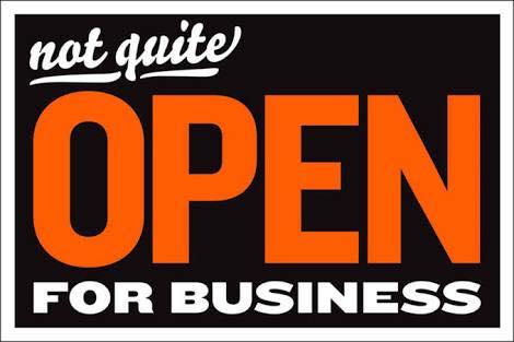 not open